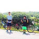 モリコロパークでサイクリング