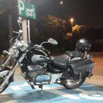 バイクで初めて高速道路を走ったよ