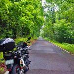 早朝から軽くバイクに乗ってきました