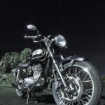 おバイク、夜の撮影会