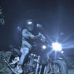 おバイク、夜の撮影会2